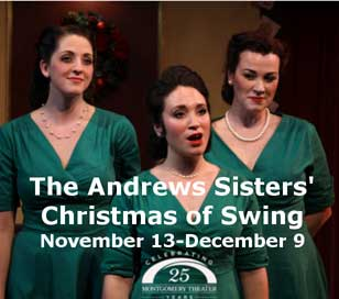 THE ANDREWS SISTERS CHRISTMAS OF SWING in Montgomery Theater