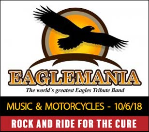 Don't miss Eaglemania live at this year's Rock and Ride for the Cure! You'll relive all the classic hits while helping a family in need fight Pancreatic Cancer. Great music, a parking lot full of awesome motorcycles, drink specials, delicious food, outdoor games, and more! Frenchtown locals, Babyface Finster will also be performing live at the event. At Rock and Ride for the Cure, we raise money that goes directly to a family that is battling Pancreatic Cancer. While research for a cure is a must, our goal is to make a direct impact on an individual and family that needs help now. The more money we raise, the more beneficiaries we can name and the greater impact we can create. Tickets and full event info can be found at https://rarftc.com. 11AM – 1PM rider and passenger registration at Brian's Harley-Davidson in Langhorne, PA. Complimentary lunch, drinks, and route map included. Fees: $45 per rider or $75 tandem. All riders receive complimentary RARFTC tee shirts. Riders leave Brian's HD and ride through Bucks County's historic covered bridges. Ride ends at Artie's Bar and Grill in Frenchtown, NJ. Live music by EAGLEMANIA and Babyface Finster plus other indoor and outdoor entertainment. Tickets for the concert only are $30 10/13/2018 – Ride Rain Date.