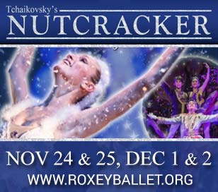 THE NUTCRACKER, ROXEY BALLET in Kendall Main Stage Theater, The College of New Jersey